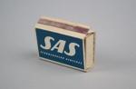 Matchbox [Scandinavian Airlines]; Swedish Match Company (estab. 1917); Scandinavian Airlines (estab. 1946); 2016.167.16