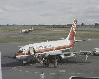 Air New Zealand Boeing 737; Mannering and Associates Limited; 08/117/192