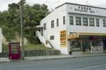 Photograph of Ford's building, Kawakawa; Les Downey; 1985?; 14-4526