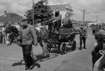 Photograph of Thames Fire Brigade horse-drawn fire wagon; Les Downey; 1972-1976; 14-2139
