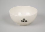 Bowl [New Zealand Railways]; Crown Lynn Potteries (New Zealand, estab. 1948, closed 1989); New Zealand Railways; 2016.84.3