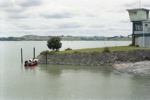 Photograph of boat ramp, Oakleigh; Les Downey; 1985?; 14-4452