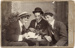 Photograph of three young men; Unidentified; 13-1222