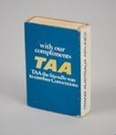 Matchbox [TAA]; Trans Australia Airlines (Australia, estab. 1946, closed 1994); 2016.167.11