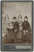 Group photograph of an elderly couple with four children; Unidentified; 13-1123