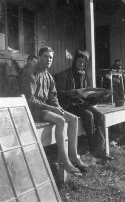 New Zealand Flying School trainees at Kohimarama; Unidentified; 10-0915
