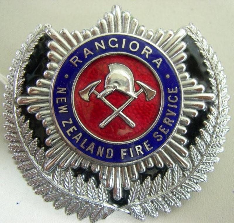 Rangiora New Zealand  City new picture : Badge [Rangiora New Zealand Fire Service]; F667.7.2002 Museum of ...