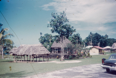"Slide from the ""Pacific Islands Coral Route"" by Maurice McGreal; Maurice E. McGreal (b.1918); 1950s; 04/038/035"
