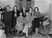 Group portrait in living room; Unidentified; 1930s; 13-2053