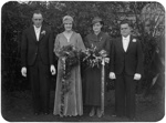 Wedding portrait; Unidentified; 1930s; 13-2261