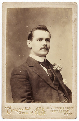 Photograph of a man; Unidentified; 13-1232