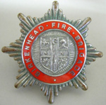 Hat Badge [Birkenhead (England) Fire Brigade]; 1982.53.84