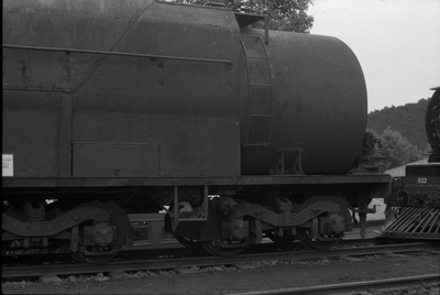 Photograph of tender of locomotive J 1236; Les Downey; 1972-1976; 14-1043