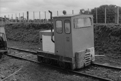 Photograph of diesel shunter; Les Downey; 1972-1976; 14-2997