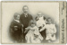 Photograph of a man with four children; Unidentified; 13-1155