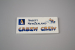 Badge [Ansett New Zealand]; Ansett New Zealand (estab. 1987, closed 2001); 2017.3.39