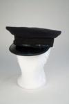 Uniform Hat [Ticket Inspector]; New Zealand Rail, Hills Caps Limited (New Zealand, estab. 1875); 2014.463