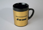 Mug [Air New Zealand]; Air New Zealand Limited (New Zealand, estab. 1965), ThermoServ Limited (United States of America); 2003.243