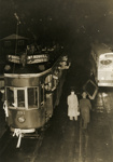 Trams  Auckland, last tram in Mt Roskill ( Dominion Rd ) 11 September 1953; Graham C. Stewart (b.1932); 14-0131