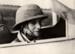 Jean Batten in Gypsy Moth G-AARB wearing a pith helmet.; Unidentified; 10-0854
