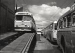 Bus servicing; Graham C. Stewart (b.1932); 08/092/080