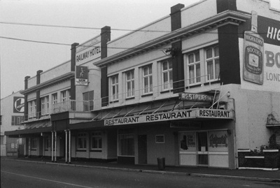 Photograph of hotel; Les Downey; 1972; 14-2694