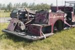 Photograph of Ford fire engine remnant; Les Downey; 1987?; 14-4254