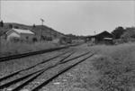 Photograph of Ahuroa rail station; Les Downey; 1975; 14-3884