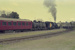 Photograph of locomotive KA 346 with train; Les Downey; 1985?; 14-4837
