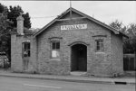 Photograph of old brick building, New Lynn; Les Downey; 1972-1976; 14-2165