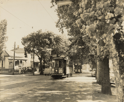 Lower Symonds Street, 1955.; Unknown Photographer; 1955; PHO-2017-5.18