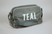 Airline Bag [Teal]; Tasman Empire Airways Limited (New Zealand, estab. 1940, closed 1965); 2013.331