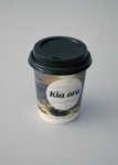 Takeaway Cup [Air New Zealand]; Air New Zealand Limited (New Zealand, estab. 1965); 2016.32.7