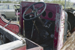 Photograph of Ford fire engine remnant; Les Downey; 1987?; 14-4255