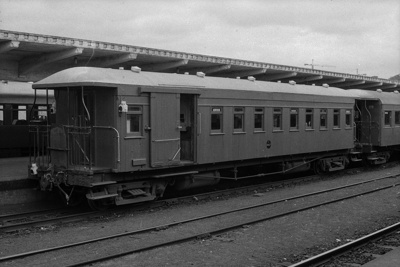 Photograph of carriage AF 1047; Les Downey; 1972-1976; 14-1142