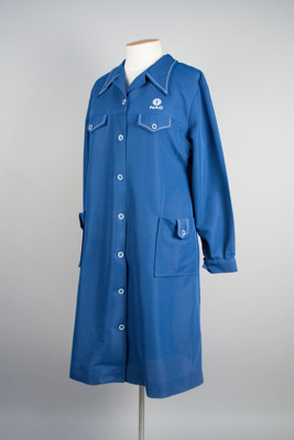 Uniform Smock [National Airways Corporation]; National Airways Corporation (New Zealand, estab. 1947, closed 1978); 1998.15