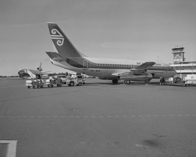 Air New Zealand Boeing 737; Mannering and Associates Limited; 08/117/1768