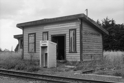 Photograph of Glenbrook station; Les Downey; 1973; 14-1962