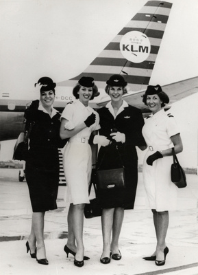 Airline Hostesses; Unknown Photographer; Unknown; 14-6298