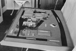 Photograph of chemical factory model; Les Downey; 1972-1976; 14-1673