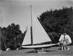 Model yacht; Unidentified; 1930s; 13-2194