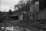 Photograph of abandoned Huntly mining area; Les Downey; 1972-1976; 14-3772