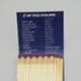 Matchbook [Air New Zealand]; Air New Zealand Limited (New Zealand, estab. 1965), Allenco Match; 2003.148.1