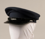 Uniform Cap [Tram Conductor]; Treister Hats Limited, Auckland Transport Board; 2013.398