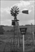 Photograph of old windmill sign; Les Downey; 1973; 14-2372