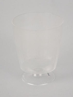 Wine Glass [NAC]; A.H.L. Plastic Products Moulding Co.; National Airways Corporation (New Zealand, estab. 1947, closed 1978); 2016.149.10