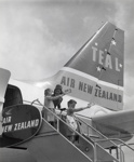 Air New Zealand promotional photograph; Unknown Photographer; 1966; 14-6122