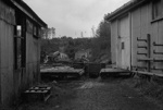 Photograph of abandoned Huntly mining area; Les Downey; 1972-1976; 14-3765