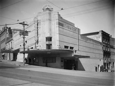 Embassy Theatre; J G McGuire; 1930s; 13-2150
