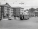 [Tram no. 235 in front of Government Buildings, Lambton Quay]; Unknown Photographer; Dec 1963?; 14-0957